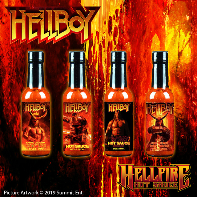 Can you handle the Hellboy Challenge?